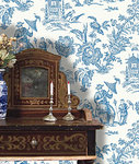 P-YING TOILE BLUE